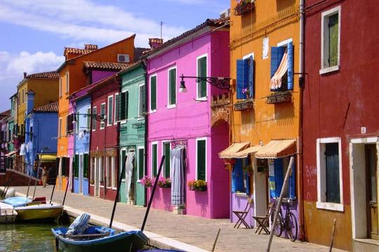 Tra i colori di Burano a Venezia